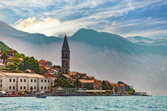 Old town on coast of Montenegro Stock Image