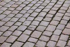 Old town cobblestone Royalty Free Stock Photo