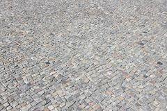 Old town cobblestone Royalty Free Stock Images