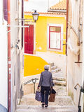 Old Town of Coimbra, Portugal Royalty Free Stock Image