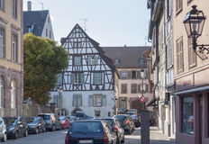 Old town of Colmar Royalty Free Stock Photos