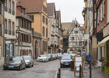 Old town of Colmar Stock Photography