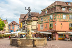 In the Old Town of Colmar Royalty Free Stock Images
