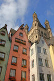 In the old town of Cologne Stock Photos