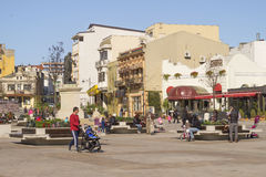 Old Town of Constanta, Ovid Square. Stock Photo