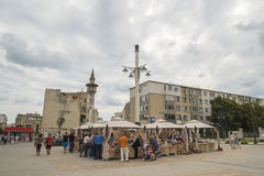 Old Town in Constanta, Romania Stock Image