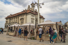Old Town in Constanta, Romania Royalty Free Stock Images