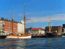 Old Town in Copenhagen, Denmark Royalty Free Stock Photo