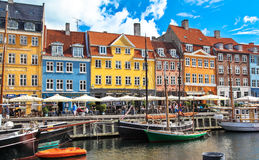 Old town at Copenhagen, Denmark Royalty Free Stock Photography