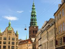 Old town in Copenhagen, denmark Stock Images