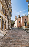 Old Town, Corfu, Greece Stock Photos