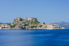 Old town of Corfu Greece Royalty Free Stock Images