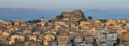 Old Town of Corfu. Old town in Venice style Stock Photos