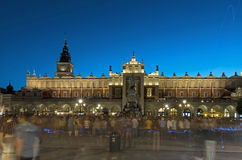 Poland at night - Cracow Royalty Free Stock Photography