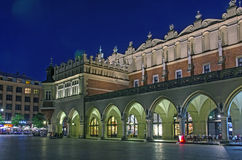 Poland at night - Cracow Stock Photos