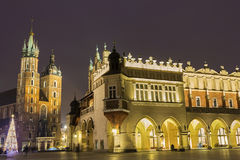 Old Town in Cracow in Poland Stock Photos