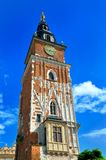 Old town in Cracow, Poland Royalty Free Stock Photos