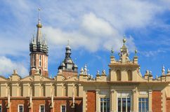 Old town in Cracow, Poland Royalty Free Stock Photo