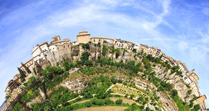 The old town. Cuenca, Spain Stock Image