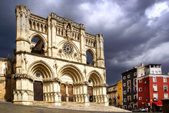 The old town. Cuenca, Spain Stock Images