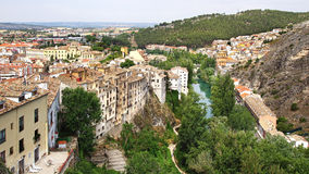 The old town. Cuenca, Spain Royalty Free Stock Photography