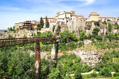 The old town. Cuenca, Spain Royalty Free Stock Images