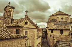 Old town of Cuenca, Spain Stock Photography