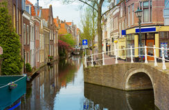 Old town, Delft, Netherlands Royalty Free Stock Image