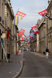 Old Town of Dijon, France Stock Photography