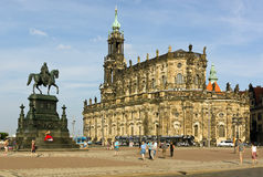 Old town dresden in germany Royalty Free Stock Image