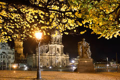 The Old Town of Dresden Royalty Free Stock Photo
