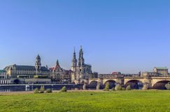 Old town of Dresden,Saxony,Germany Stock Photo