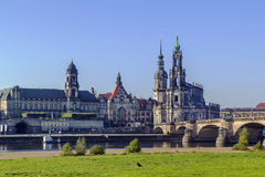 Old town of Dresden,Saxony,Germany Royalty Free Stock Images