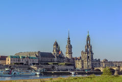 Old town of Dresden,Saxony,Germany Royalty Free Stock Photography