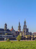 Old town of Dresden,Saxony,Germany Royalty Free Stock Photos