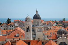 Old town of Dubrovnik Royalty Free Stock Images
