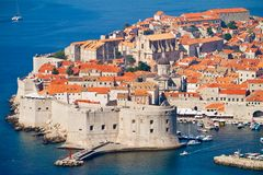 The Old Town of Dubrovnik Royalty Free Stock Photo
