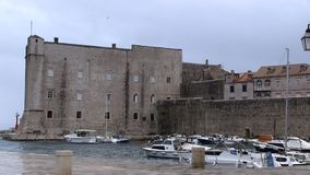 Old Town Dubrovnik stock footage