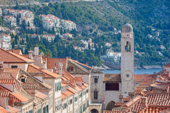 Old town of Dubrovnik Stock Images