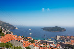 The Old Town of Dubrovnik, Croatia Royalty Free Stock Photography