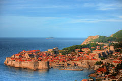 The Old Town of Dubrovnik, Croatia Royalty Free Stock Photos