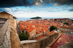 Old Town of Dubrovnik in Croatia Stock Photography