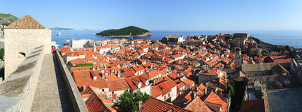 The old town of Dubrovnik Royalty Free Stock Images