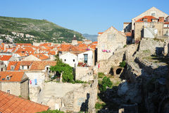 The old town of Dubrovnik Stock Photos