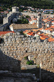 The old town of Dubrovnik Stock Images