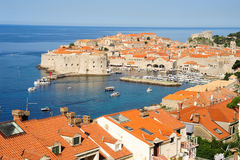 The old town of Dubrovnik Stock Image