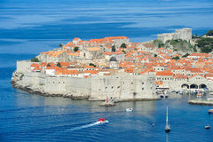 The old town of Dubrovnik Stock Photography