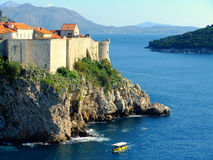 Old town of Dubrovnik, Croatia Royalty Free Stock Images