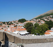 Old town of Dubrovnik, Croatia. Balkans, Adriatic sea, Europe. Royalty Free Stock Image