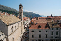 Old town of Dubrovnik, Croatia. Balkans, Adriatic sea, Europe. Beauty world. Royalty Free Stock Photography